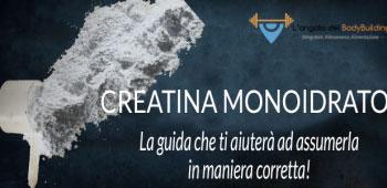 assumere la creatina monoidrato