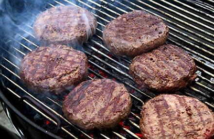 Mangiare fuori casa hamburger
