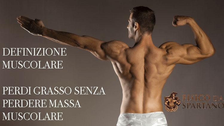 dieta e programma di allenamento per costruire la massa muscolare